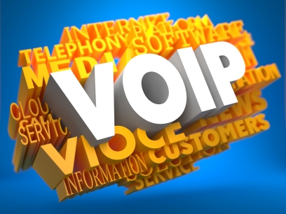 VOIP. Wordcloud Concept.